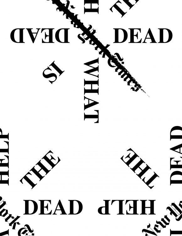 <p>Every Ocean Hughes and Bryce Wilner, <em>Help the Dead</em>, 2019</p>