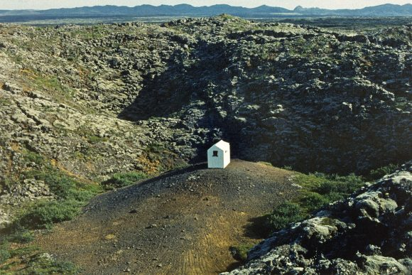 "<p>Hreinn Friðfinnsson, <em>First House, </em>1974, one of 16 <span lang=""EN-GB"">color photographs</span>, Courtesy the artist, i8 Gallery, Reykjavík; Galerie Nordenhake, Berlin/Stockholm/Mexico City; Meessen De Clercq, <span lang=""EN-US"">Brussels</span>; Galería Elba Benitez, Madrid</p>"