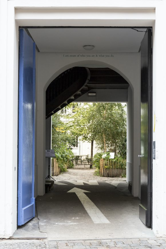 <p>Entrance gate of KW; Photo: Frank Sperling</p> <p></p>