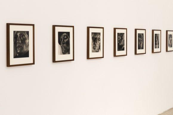 Helmar Lerski, from the series: <i>Verwandlungen durch Licht</i>, 1935/1936, Courtesy Museum Folkwang, Essen (DE), Installationsansicht KW Institute for Contemporary Art, Berlin 2017, Photo: Frank Sperling
