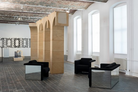 Trix & Robert Haussmann, installation view <i>The Log-O-Rithmic Slide Rule: A Retrospective</i> at KW Institute for Contemporary Art, Photo: Frank Sperling