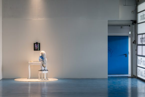 Lynn Hershman Leeson, <i>Venus of the Anthropocene</i>, 2017, Installation view of the exhibition <i>First Person Plural</i>, KW Institute for Contemporary Art, Berlin, 2018, Photo: Frank Sperling