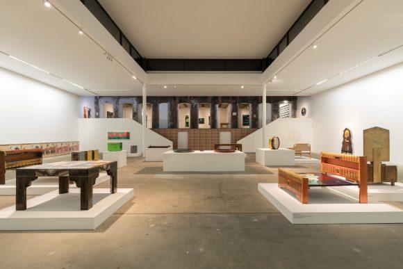 Beatriz González, installation view of the exhibition <i>Retrospective 1965–2017</i>, KW Institute for Contemporary Art, Berlin 2018, Photo: Frank Sperling