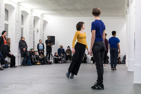 "<a href=""https://www.kw-berlin.de/en/to-my-future-body/"">To: my future body</a>, Intergenerative dance project, 2018–19, Photo: Frank Sperling"