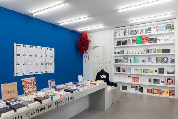 <p>KW Bookstore, KW Institute for Contemporary Art, Berlin, 2019, photo: Frank Sperling</p>