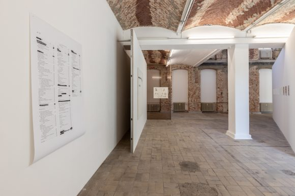 Heike-Karin Föll, installation view <i>speed</i> at KW Institute for Contemporary Art, Berlin, 2019, photo: Frank Sperling