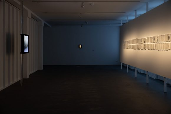 Installation view of <i>Leonilson Drawn 1975–1993</i> at KW Institute for Contemporary Art, Berlin 2020; Courtesy Projeto Leonilson; Photo: Frank Sperling