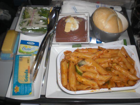 <p>Menu at Turkish Airlines</p>