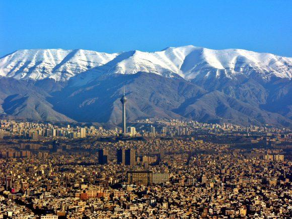 <p>Stadtansicht Teheran</p>