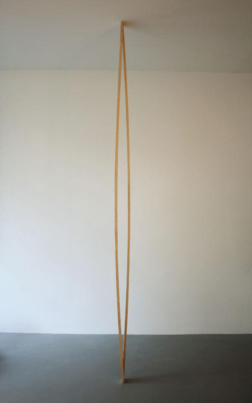 Albrecht Schäfer, Ohne Titel, 2008, Roof battens, Size variable, Limited edition of 12, Price: 1,000 Euro