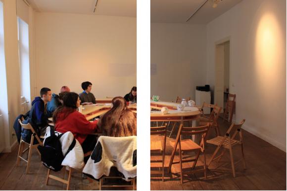 <p>Dokumentation des Workshops <em>Plani I</em>, 2018, Foto: Duygu Örs</p>