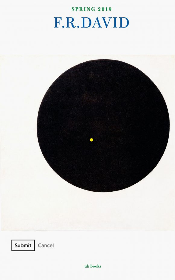 """F.R.DAVID, Cover der Ausgabe 17, """"Black Sun"""", 2019, Courtesy der Künstler"""