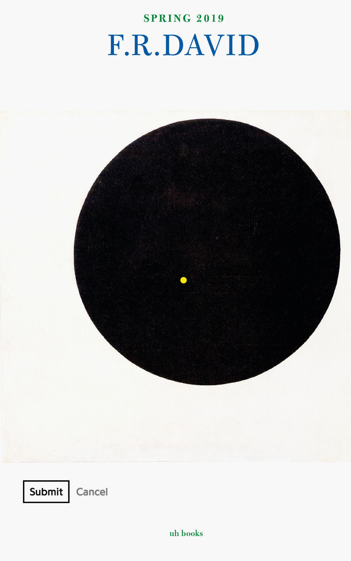 F R DAVID Black Sun and 5/4 – KW Institute for Contemporary Art