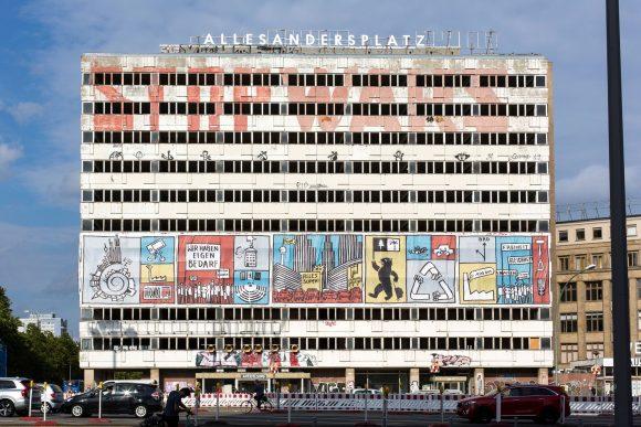<p>ALLESANDERSPLATZ, Haus der Statistik, Berlin 2019, photo:Victoria Tomaschko</p>
