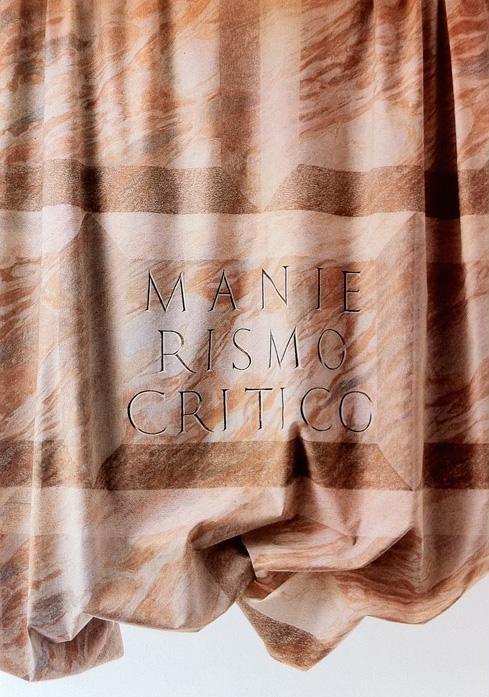 <p>Trix & Robert Haussmann,<em>Manierismo Critico</em>, 1981</p>