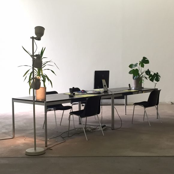 Pause: <i>+49 30 243459-53</i>, KW Institute for Contemporary Art, Berlin 2019, Foto: Sarah Wessel