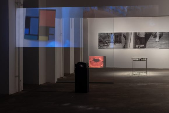 <p>Anna Daučíková, Installationsansicht in der Ausstellung <em>Kunstpreis der Schering Stiftung 2018: Anna Daučíková</em> in den KW Institute for Contemporary Art, Berlin 2019; Courtesy die Künstlerin; Foto: Frank Sperling</p>