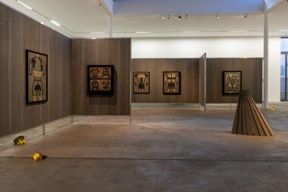 <p>Installationsansicht in der Ausstellung <em>The Making of Husbands</em>: Christina Ramberg in Dialogue in den KW Institute for Contemporary Art, Berlin 2019; Courtesy die Künstler*innen; Foto: Frank Sperling</p>