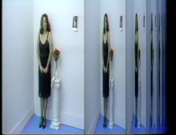 <p>Lynn Hershman Leeson, <em>First Person Plural, The Electronic Diaries of Lynn Hershman</em> (1984–96), Courtesy die Künstlerin und Bridget Donahue, New York</p>
