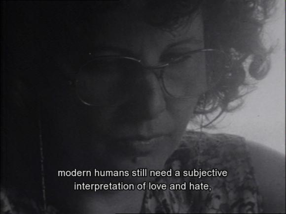 <p>Portrait of Ada Flamino in <em>Scuola Senza Fine, </em>1983</p>
