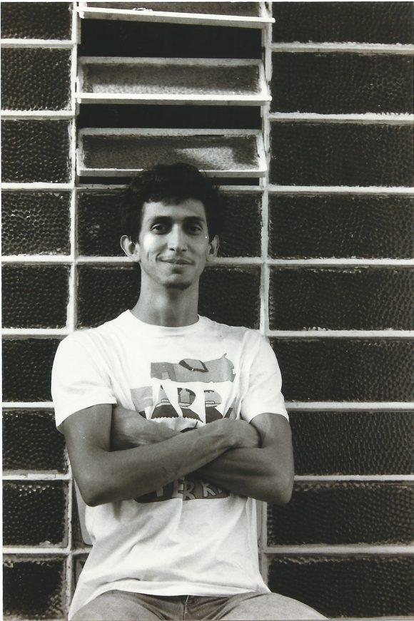 <p>Image: Portrait Leonilson, 1983; Courtesy Projeto Leonilson; Photo: Ronaldo Miranda</p>