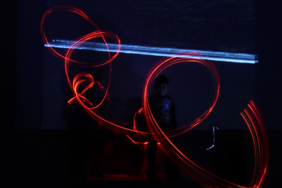 """<p>Fotografie während des Workshops """"Dag/Nacht""""</p>"""