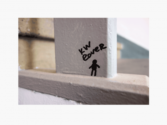 Nedko Solakov, Motiv #1, 'KW Lover' Digitaler Pigmentprint auf Hahnemühle Photo Rag, Preis: 800 Euro