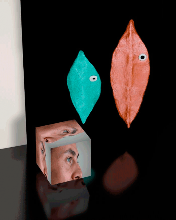 Roman Schramm, Juan Pedro and two Figures, 2014, C-Print 30 x 24 cm, Limitierte Edition von 10, Preis: 550 Euro