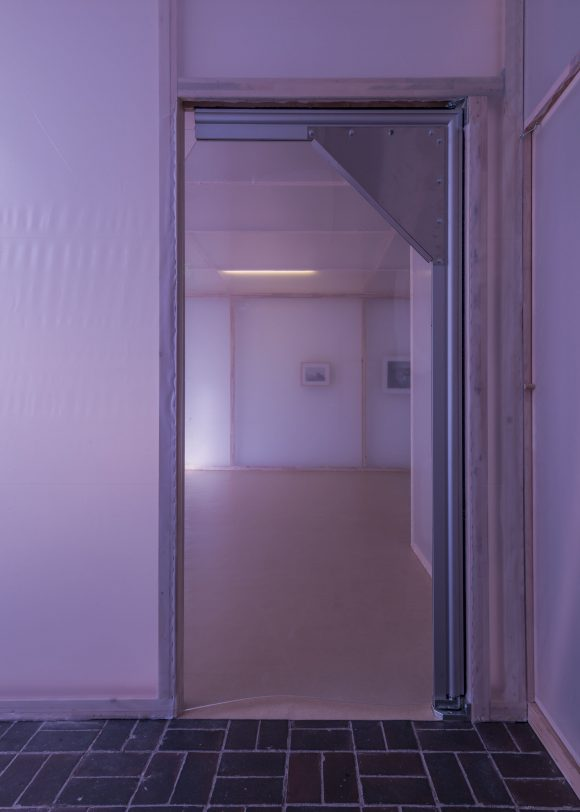 Steve Bishop, installation view of the exhibition <i>Deliquescing</i>, installation in five parts, KW Institute for Contemporary Art, Berlin 2018, Courtesy the artist and Carlos/Ishikawa, Photo: Frank Sperling