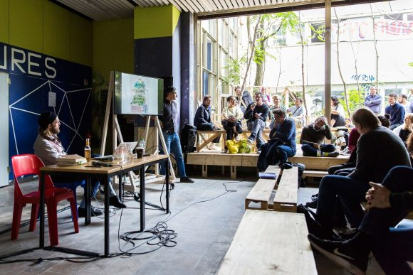 STATISTA Konferenz, Beitrag von Marco Clausen, Prinzessinnengärten ©Victoria Tomaschko