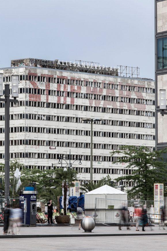 ALLESANDERSPLATZ, Haus der Statistik, Berlin 2019, Foto:Victoria Tomaschko