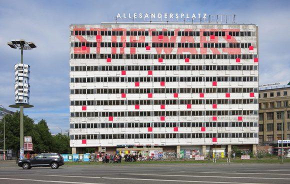 <p>ALLESANDERSPLATZ, Haus der Statistik, Berlin 2019</p>