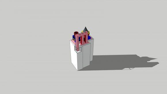 <p>Shirin Sabahi, <em>Plinth Project (Andrea)</em>, 2021. Courtesy Andrea Canepa</p>