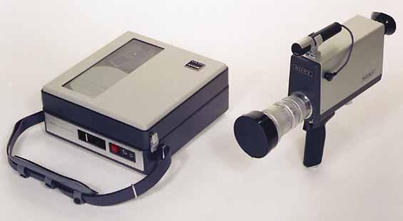 <p>Sony AV-3400 Portapak</p>
