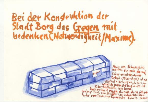 """<p><span class=""""mini"""">Annette Wehrmann, aus der Serie: <em>Ort des Gegen</em>, ca.1990 © Ort des Gegen </span></p> <p></p>"""