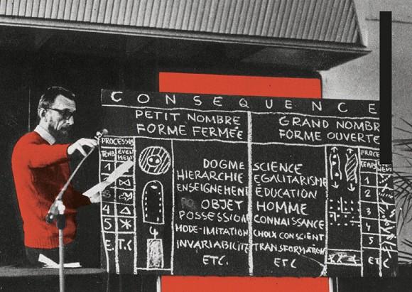 Oskar Hansen at the AICA congress in Wroclaw, 1975, photo: S. Stepniewski, Courtesy Igor Hansen