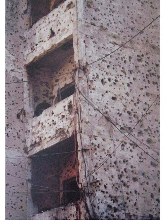 Eva-Maria Wilde, Beirut 2003