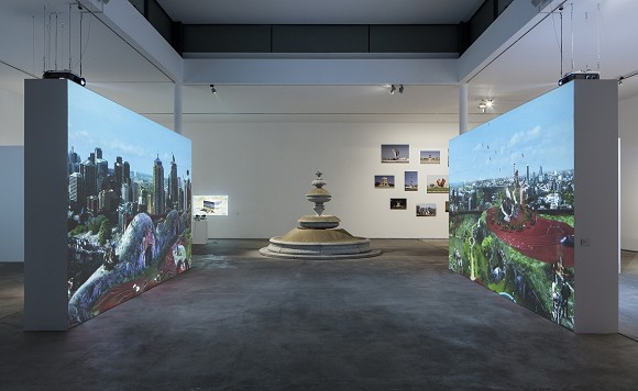 WELCOME TO THE JUNGLE, Ausstellungsansicht, Foto: Timo Ohler<br>