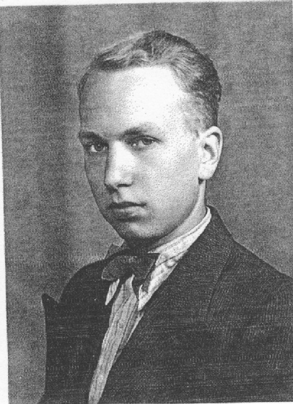 Die Melancholie der Elite, Unbekannter Fotograf: Hans, späte 1930er Jahre