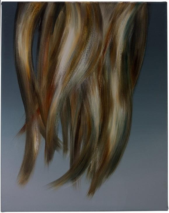 Julia Rüther, Untitled, 2012, Oil and acrylic on canvas, 53 x 42 cm, Courtesy: Julia Rüther<br>