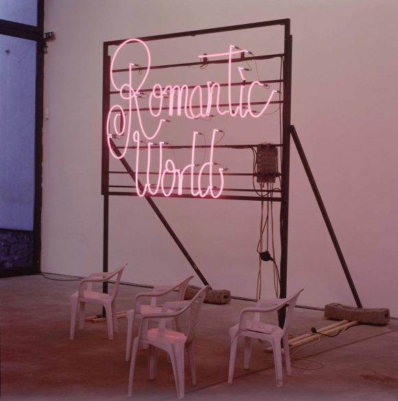 <p>Bert Neumann: <em>Dating Agency</em>, 2002; Installationsansicht der 3. Berlin Biennale in den KW Institute for Contemporary Art, Berlin 2004; Foto: Werner Maschmann</p>