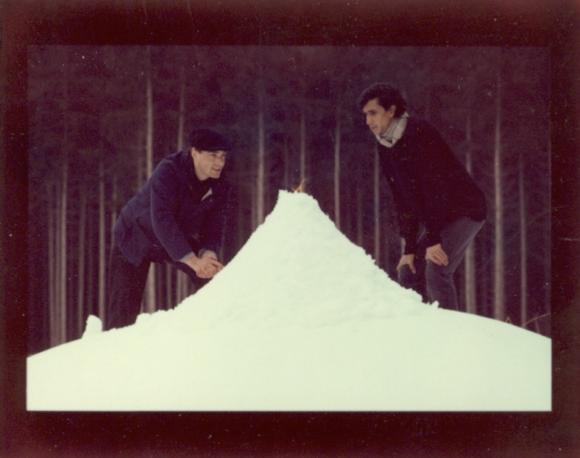 <p>Bild:Albert Hien & Leonilson, Jasberg, 11. März 1986; Foto: Philipp Schönborn</p>