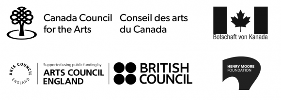 <p>The exhibition is generously supported by the British Council through Arts Council England, the Henry Moore Foundation, the Embassy of Canada in Berlin, and the Canada Council for the Arts. We acknowledge the support of the Canada Council for the Arts, which last year invested $153 million to bring the arts to Canadians throughout the country.</p> <p> </p>