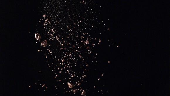 <p>Nicholas Mangan, <em>A World Undone</em>, 2011, video still, HD Video, Color</p>