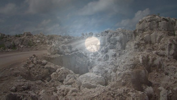 <p>Nicholas Mangan, <em>Nauru – Notes from a Cretaceous World</em>, 2010, video still</p>
