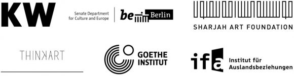 <p></p> <p>Das Programm der KW Institute for Contemporary Art wird ermöglicht durch die Unterstützung der Senatsverwaltung für Kultur und Europa.</p> <p></p> <p>Die<em>School of Casablanca</em> wurde von den KW Institute for Contemporary Art, Berlin und der Sharjah Art Foundation, Sharjah in Kooperation mit ThinkArt, Casablanca und dem Goethe-Institut Marokko initiiert.</p> <p></p> <p>Die Konferenz <em>The School of Casablanca: Pioneering innovative strategies for the production and transmission of forms of knowledge—Learning from the legacies of the School of Casablanca today</em> wird mit zusätzlicher Unterstützung des ifa (Institut für Auslandsbeziehungen), Berlin/Stuttgart realisiert.</p> <p></p>